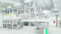 State-of-the-art production lines are available, ensuring the hygienic filling of bulk material. Photo: AZO Group.